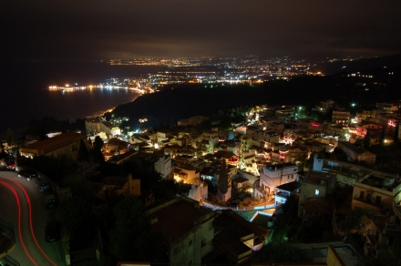 TAORMINA BY NIGHT - B&b Anthea Dell' Etna